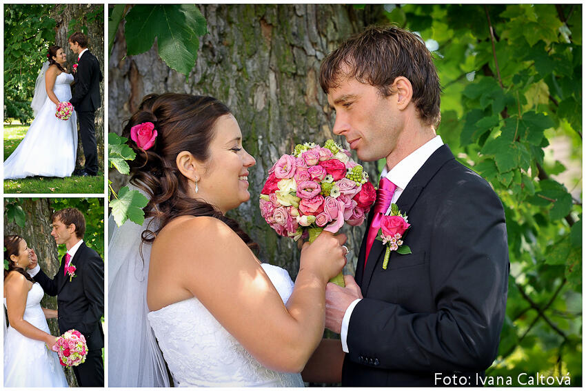 Svatba Zámek Chýše